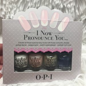 Romantic Wedding OPI Collection